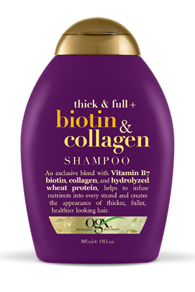 Shop The Best Shampoos And Conditioners For Thicker Fuller Hair Biotin And Collagen Shampoo Good Shampoo And Conditioner Shampoo For Thinning Hair