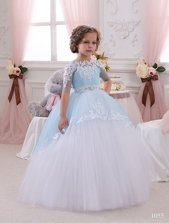 Flowergirl Dress Fairy Disney Princess Christmas Dresshigh Quality Lace White Or Ivoryblueflower Girl Luxury Only The Best Is Good