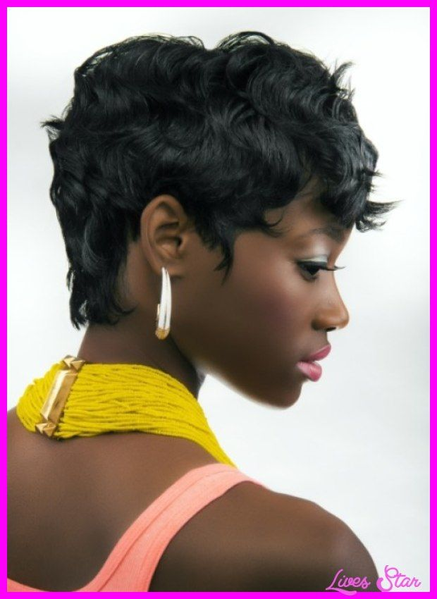 Neck Length Hairstyles For Black Women Short Hair Styles Pictures Of Short Haircuts Short Thick Wavy Haircuts