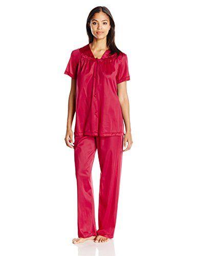 f3a12d40afc PSD Vanity Fair Women s Plus Size Coloratura Sleepwear Short Sleeve Pajama  Set 90807