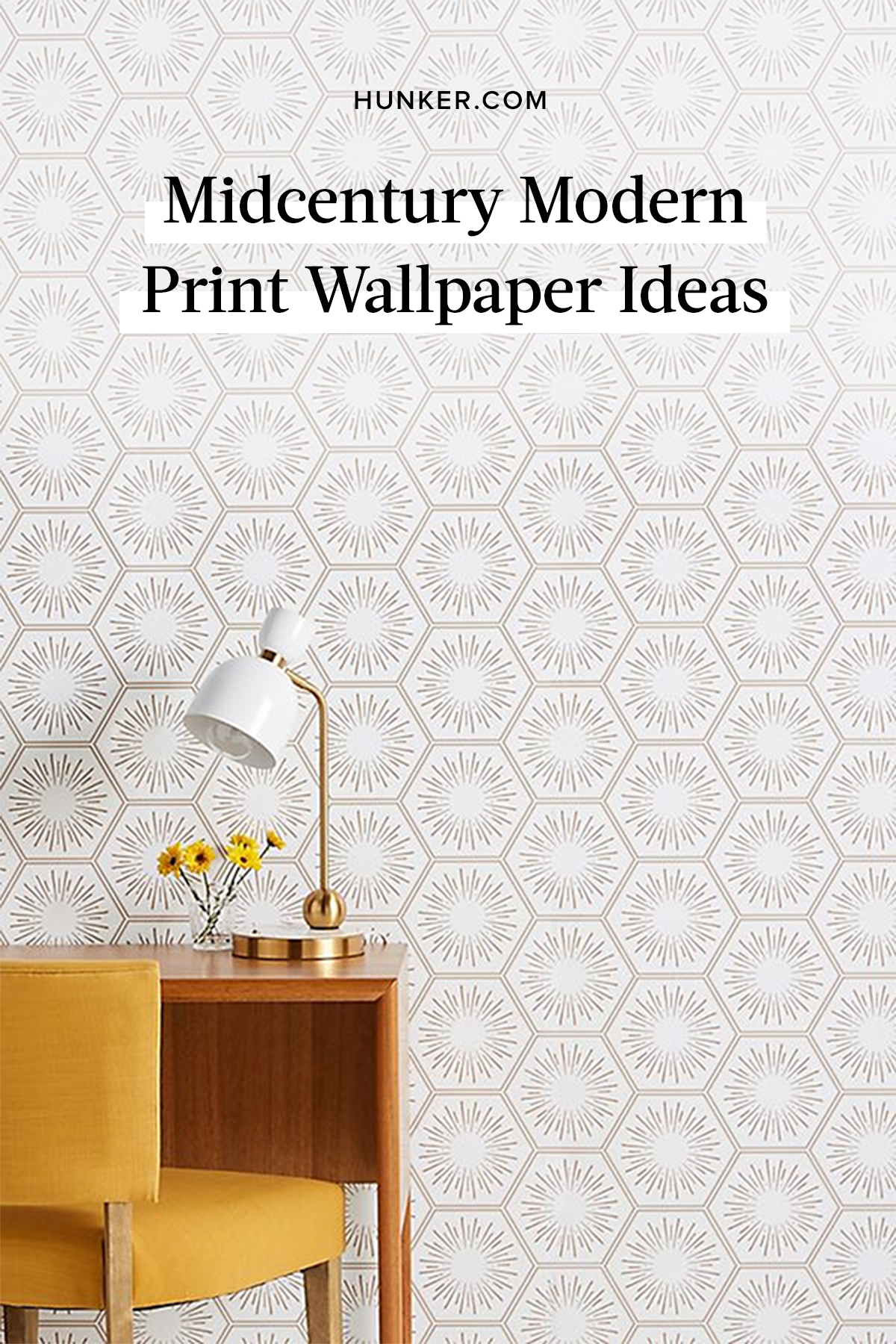 Looking For Midcentury Modern Wallpaper These Prints Are Perfectly Retro Hunker Modern Print Wallpaper Modern Wallpaper Midcentury Modern
