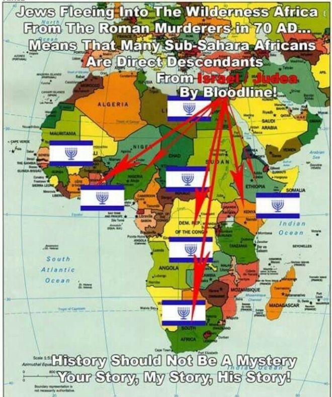 FOUR EDEN GARDEN RIVERS Black hebrew israelites, African