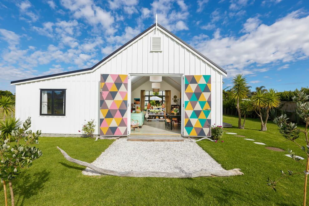 Funky Creative Home by Customkit Buildings Shed homes