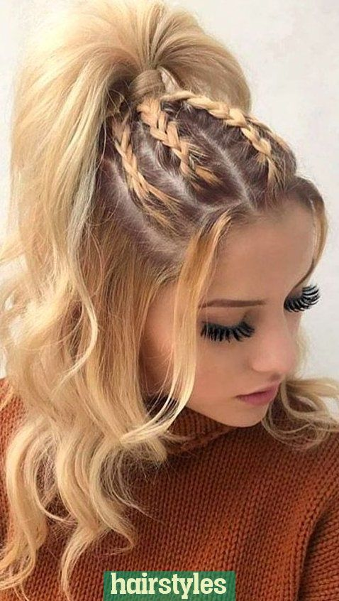 easy hairstyle girls girls easy hairstyle cute hairstyle