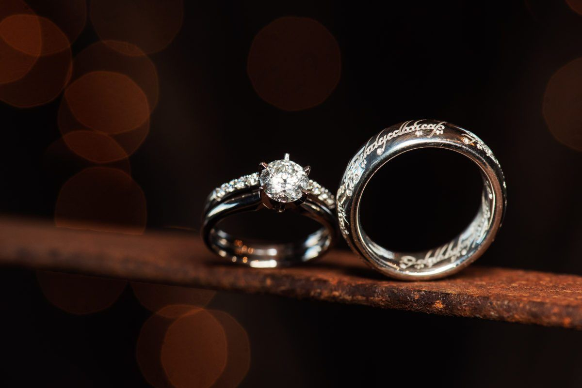 Wedding Ring Band Shots Rings Bands Photo Ideas Lord Of The Movie