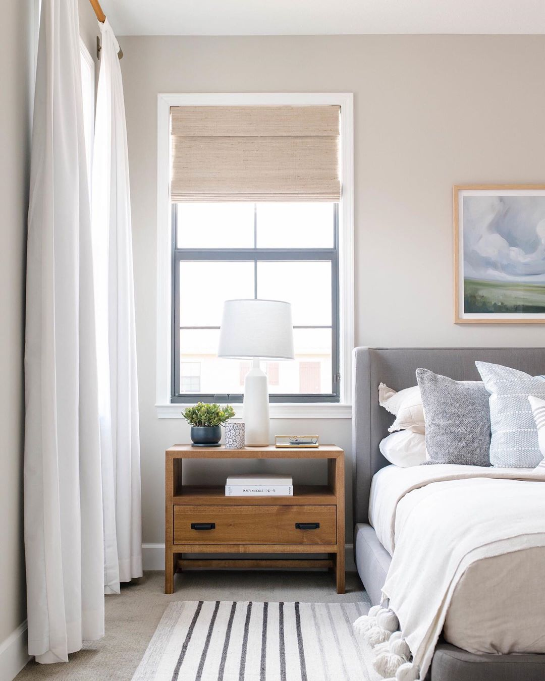 Friyay Now Give Us A Cozy Bed To Crawl Into So We Can Sleep For The Next 7 Years Master Bedroom Layout Transitional Bedroom Design Bedroom Furniture Layout Next up master bedroom
