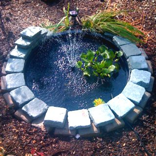 With a DIY water feature  outdoor areas become much more enjoyable  Even a  simpleWith a DIY water feature  outdoor areas become much more enjoyable  . Outdoor Water Fountains Diy. Home Design Ideas