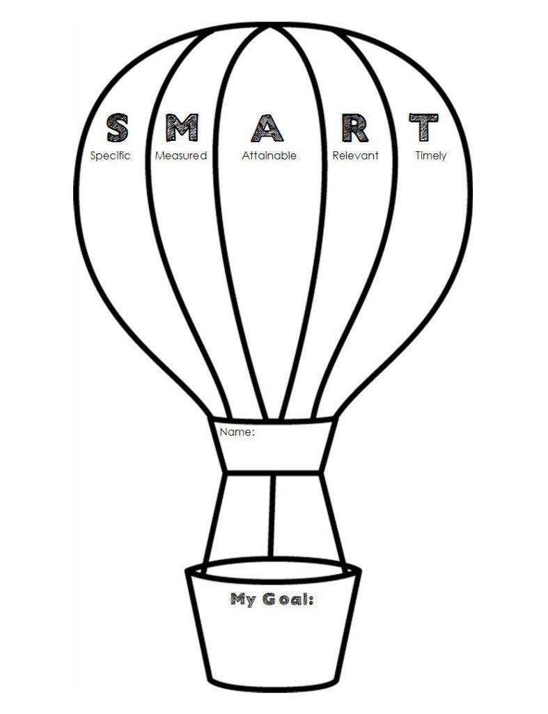 Student Academic Goal Setting Sheets Academic Goals Smart Goals Printable Goal Setting Worksheet