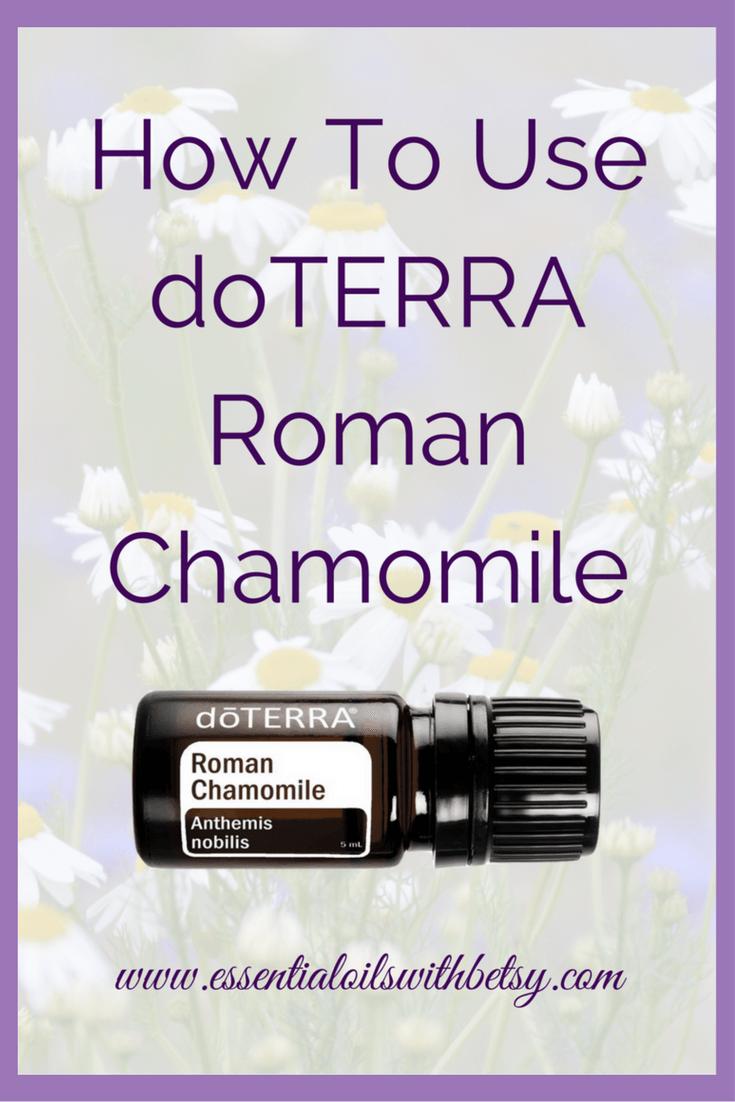 Doterra Roman Chamomile Essential Oil Are Essential Oils