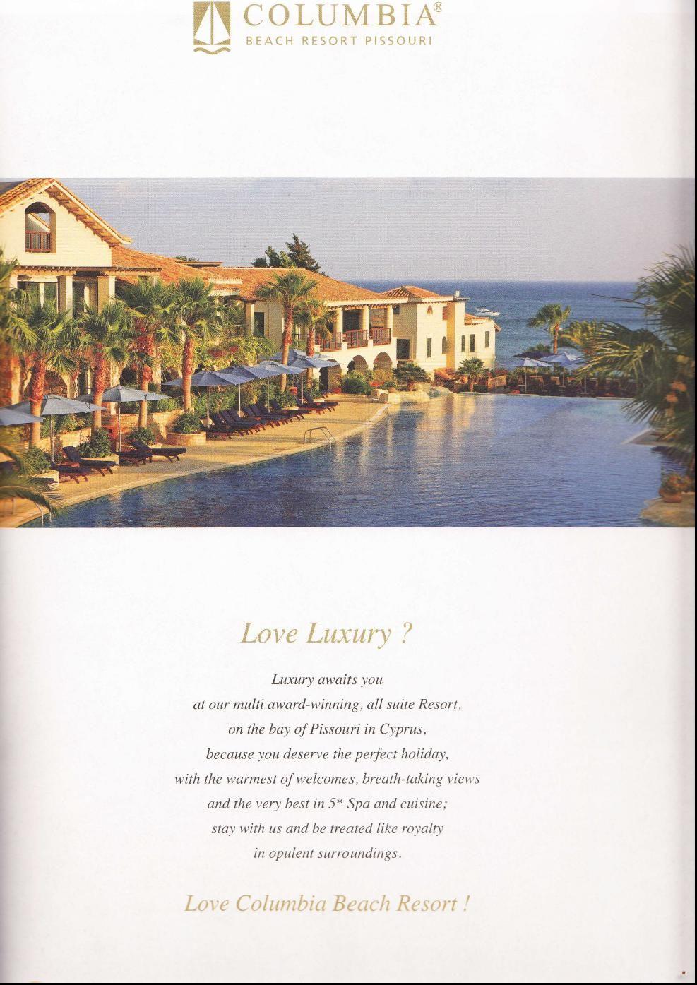 Quintessentially Magazine Www Columbiaresort Com Beach Resorts Resort Beach