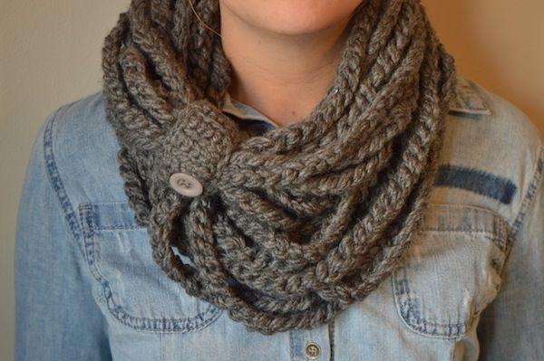Crochet Chain Scarf Crochet Scarves