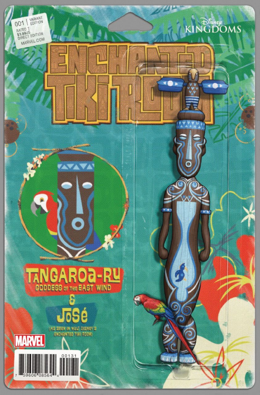 Marvel - Enchanted Tiki Room (2016) #1 - Tangaroa-Ru Action Figure Variant Cover