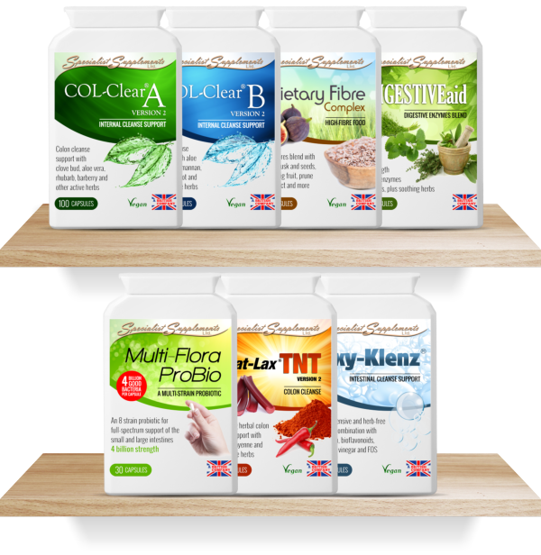 WHOLESALE COLON CLEANSERS: UK-manufactured Under GMP And