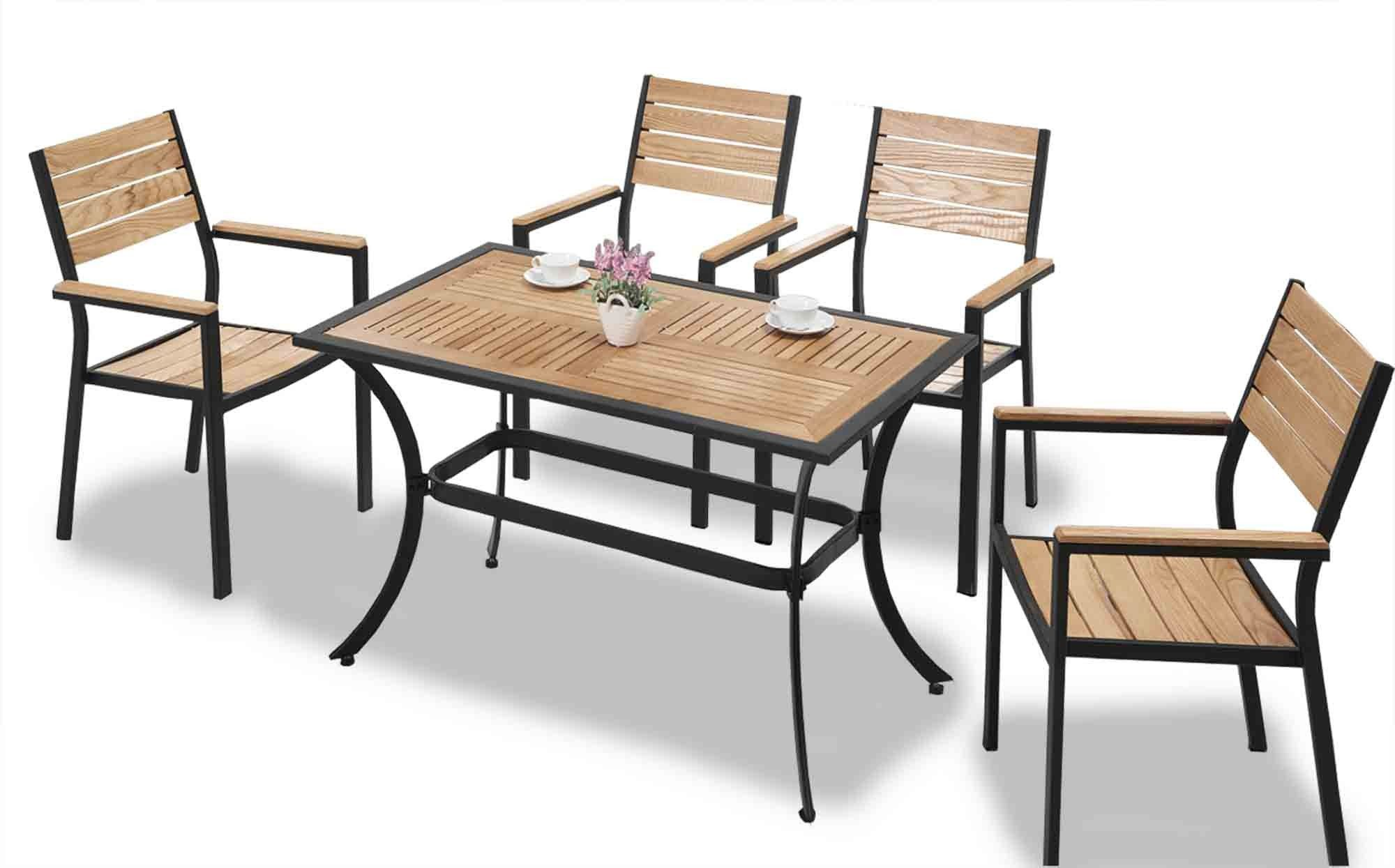 Miros Outdoor Set Dimension Table - Height: 6cm - Width: 6cm