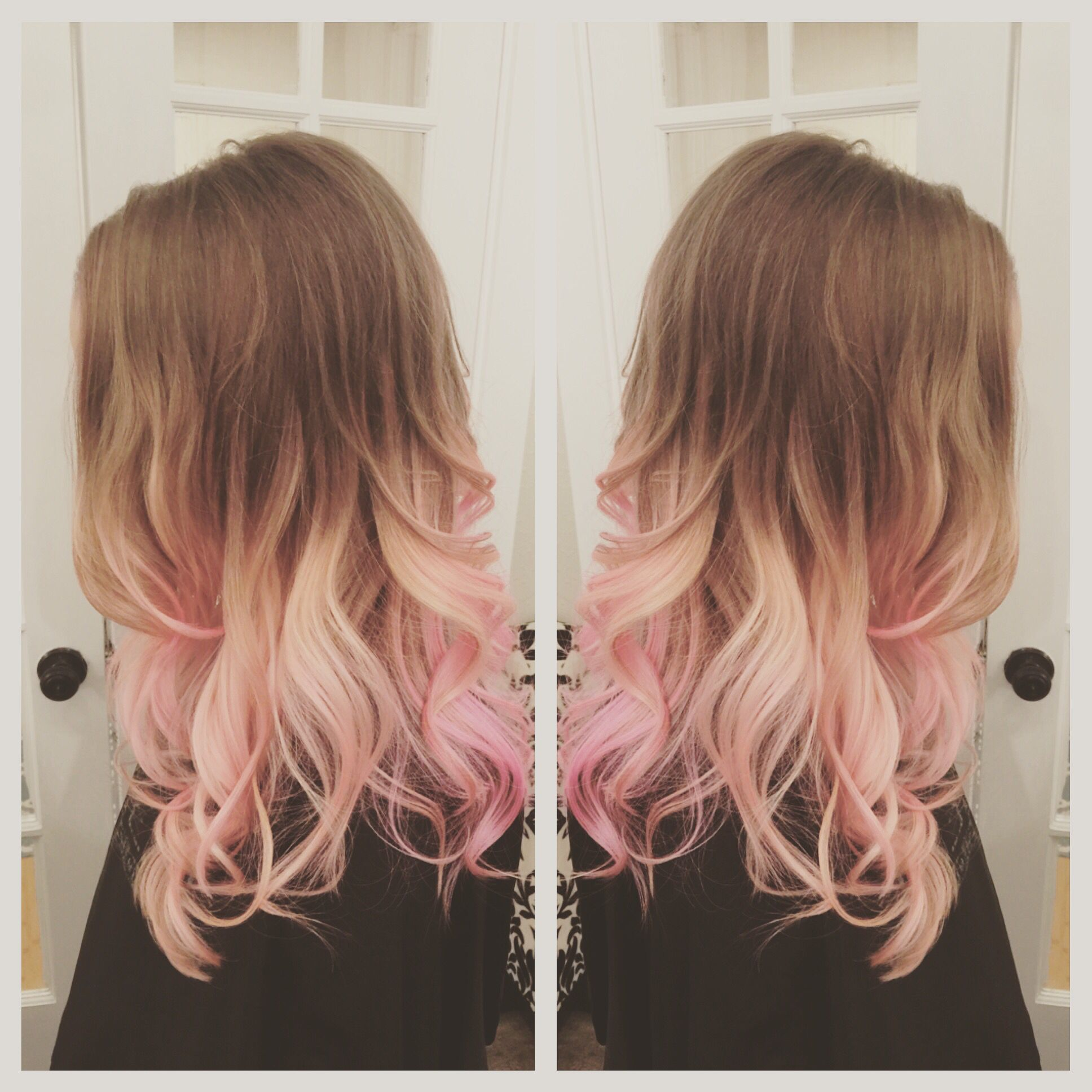 Pink hair balayage ombr hair before afters pinterest pink hair balayage ombr solutioingenieria Gallery