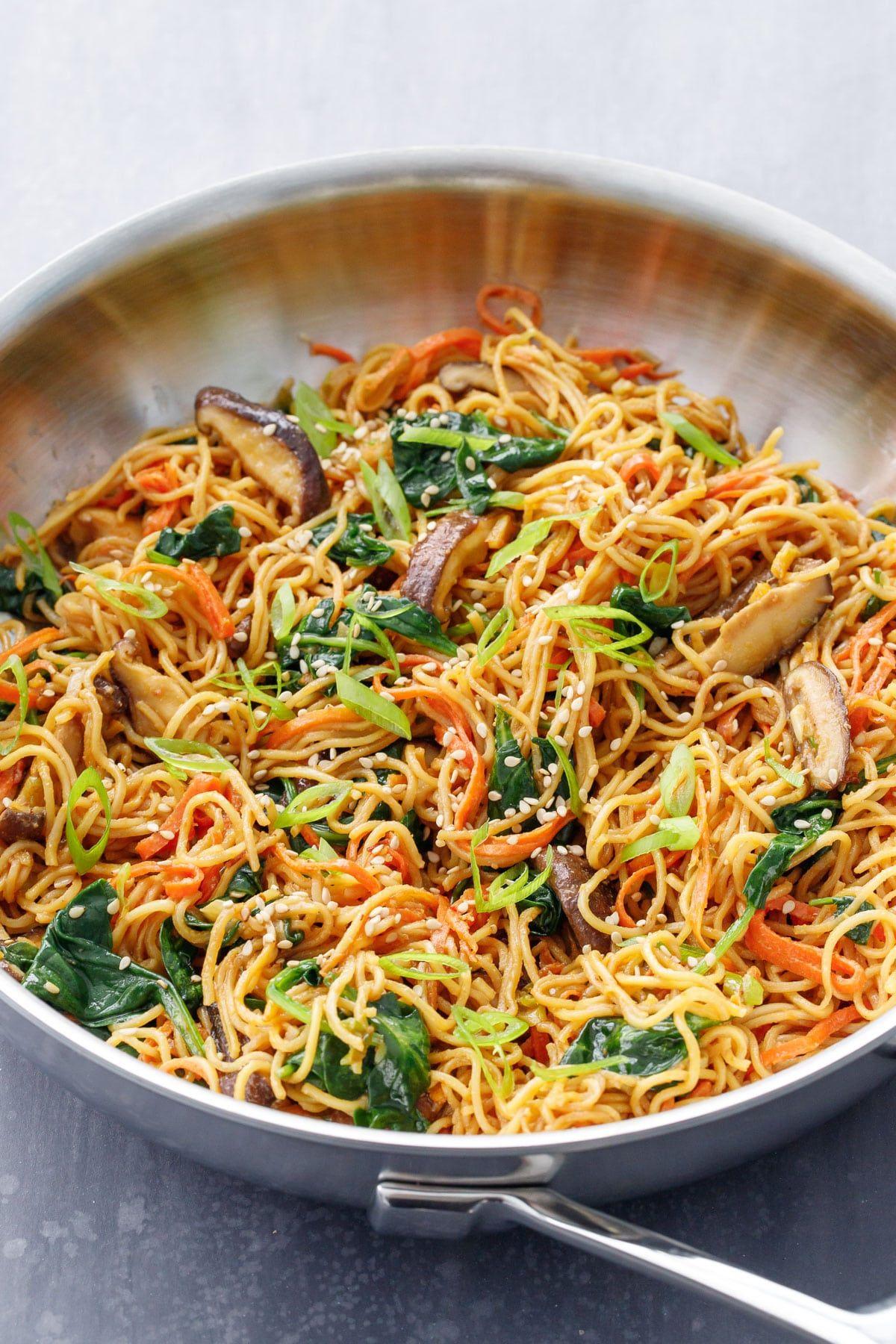 Sesame Stir Fry Noodles Recipe Stir Fry Noodles Fried Noodles