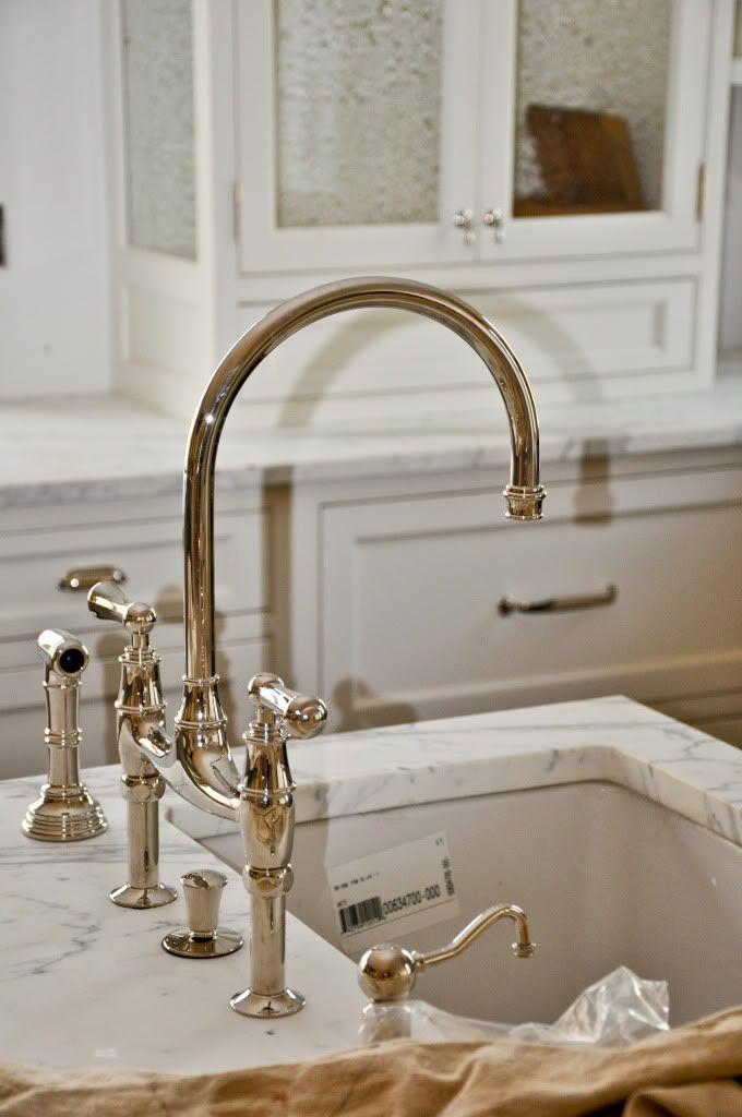 Perrin And Rowe Bridge Faucet Polished Nickel Love Bridge Faucet Kitchen Classic White Kitchen Kitchen Hardware