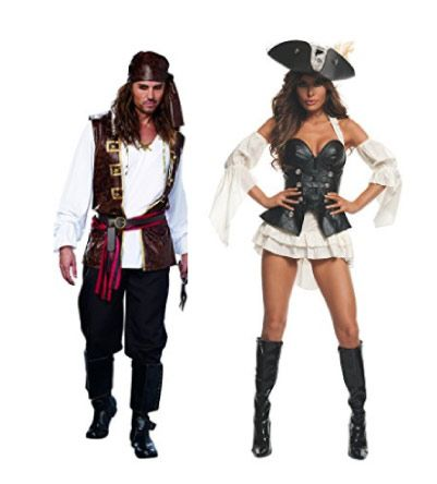 Couple Costumes Halloween Ideas Couples Costumes Couple Halloween Costumes Pirate Costume Couple