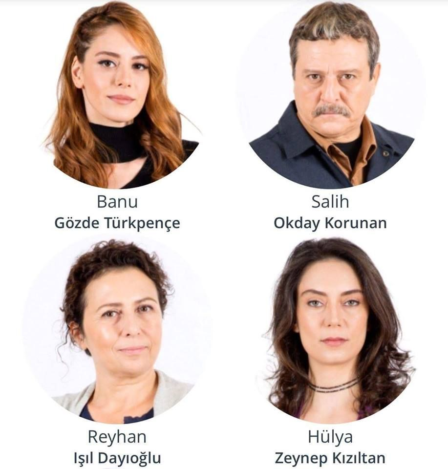 Cesur Ve Guzel Some Of The Cast From The Turkish Tv Series 2016