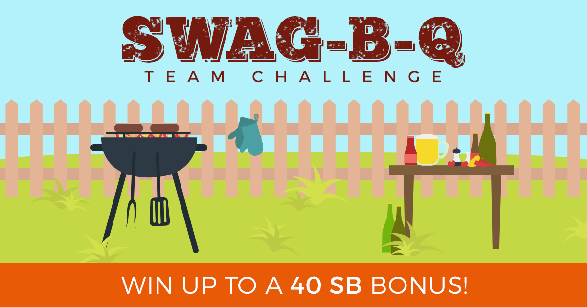 Swagbucks Canada Earn 40 bonus points with Swag-B-Q Team