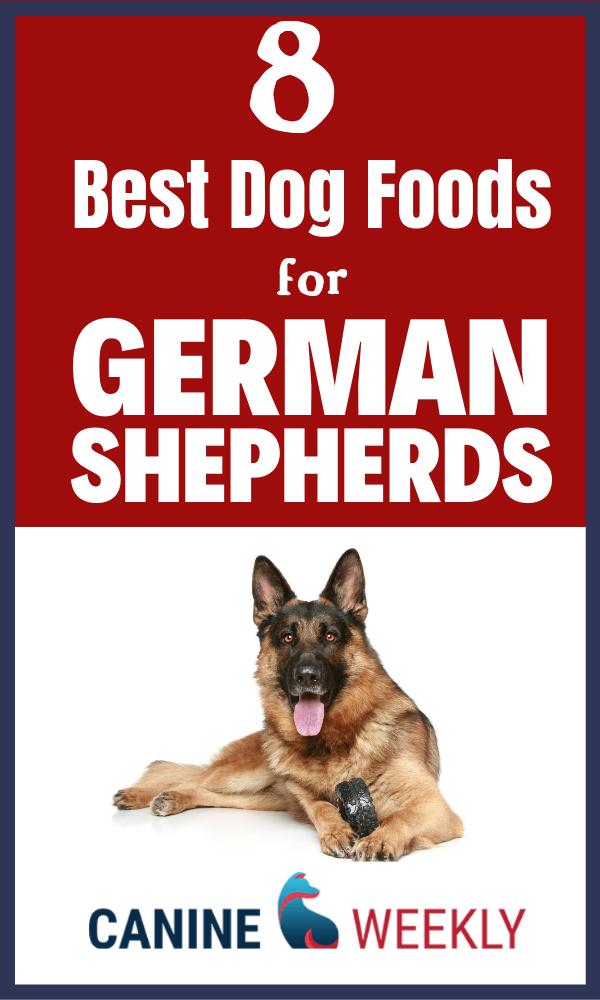 8 Best Dog Food for German Shepherds [2020 Reviews