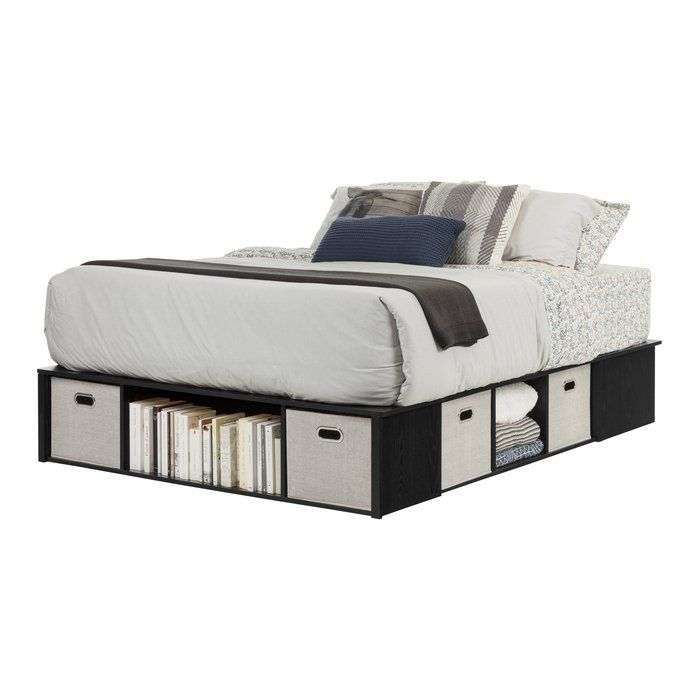 Flexible Storage Platform Bed Platform Bed With Storage Queen Size Storage Bed Bed Storage