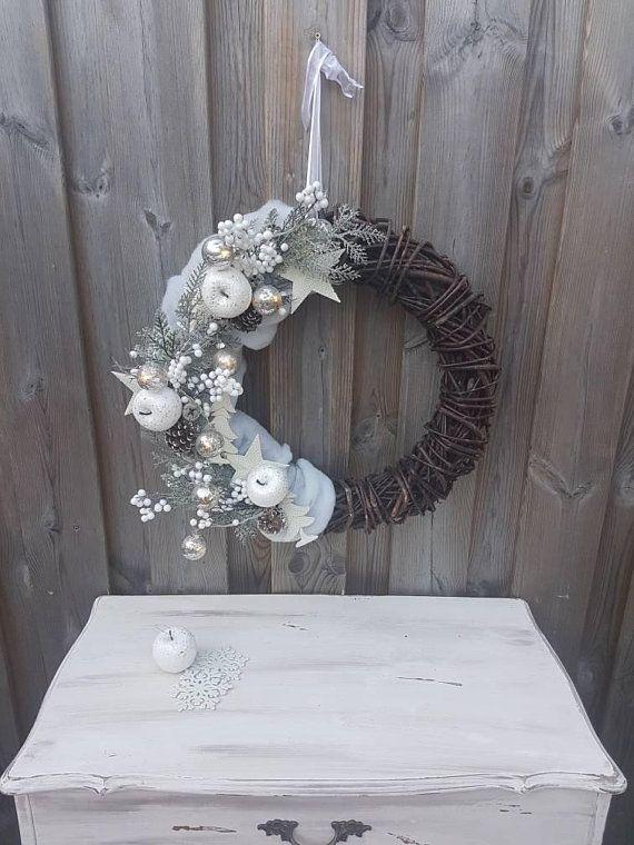 Kerst// krans// deurhanger// cadeau// kerstbal verlichting ...