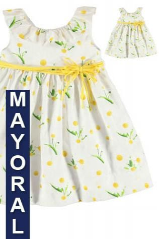 Sweet girls dress from Mayoral £33.50 available in ages 3 to 7