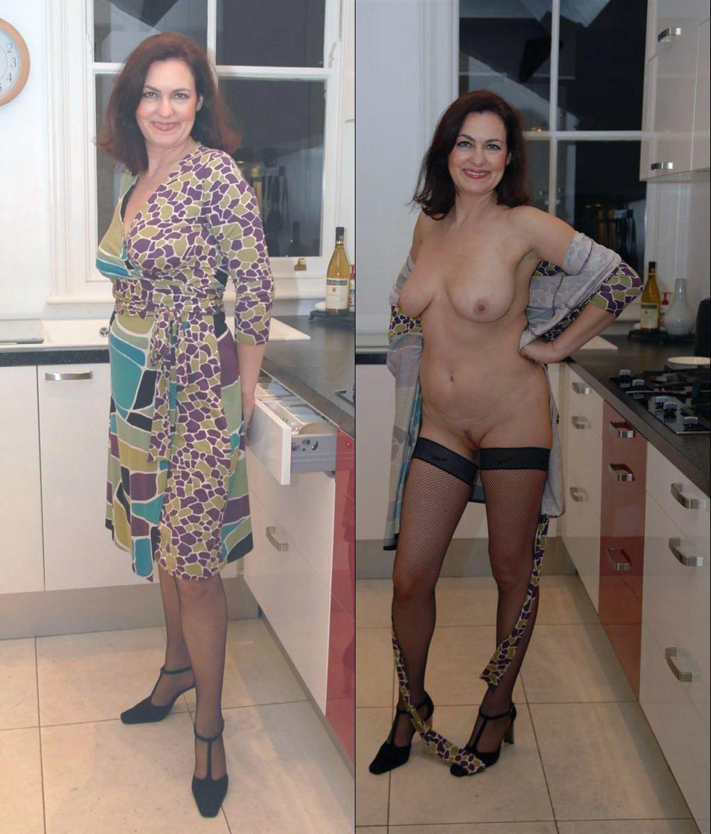 Жены до раздевания и после фото как