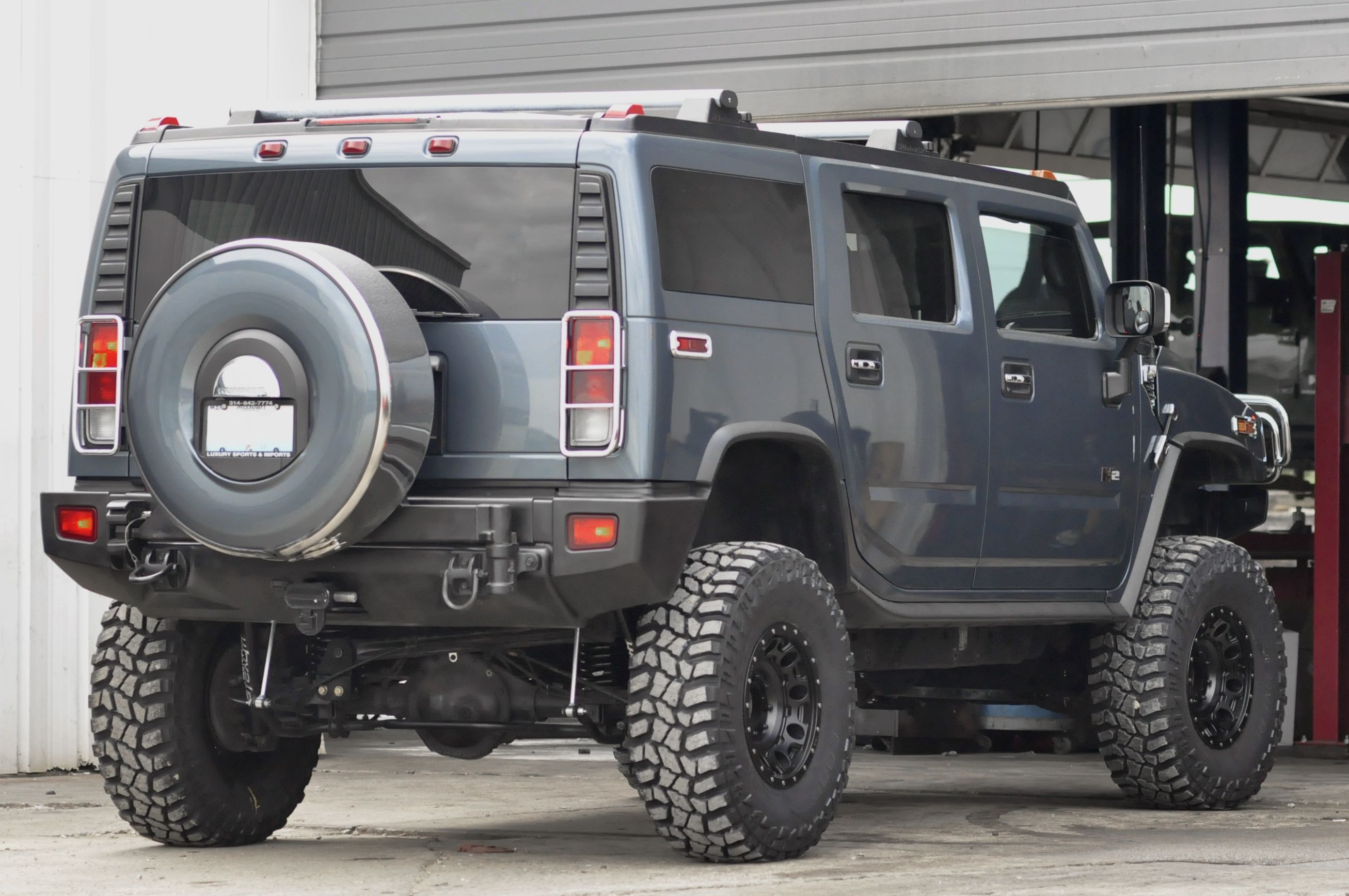 2005 Hummer H2 With A 6 Inch Fabtech Lift And 37 Inch Cooper Stt Pro Tires Upgraded At Axleboy Off Road Hummer H2 Hummer Monster Trucks