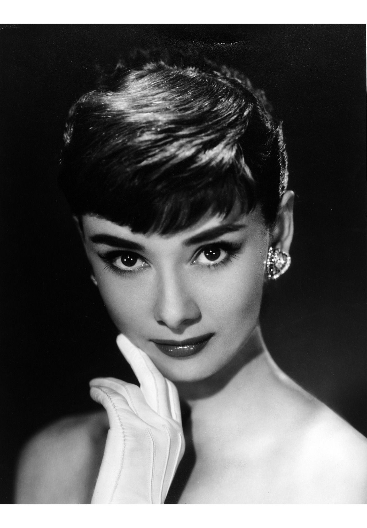 "Audrey Hepburn in the 1953 film ""Roman Holiday."" Audrey"