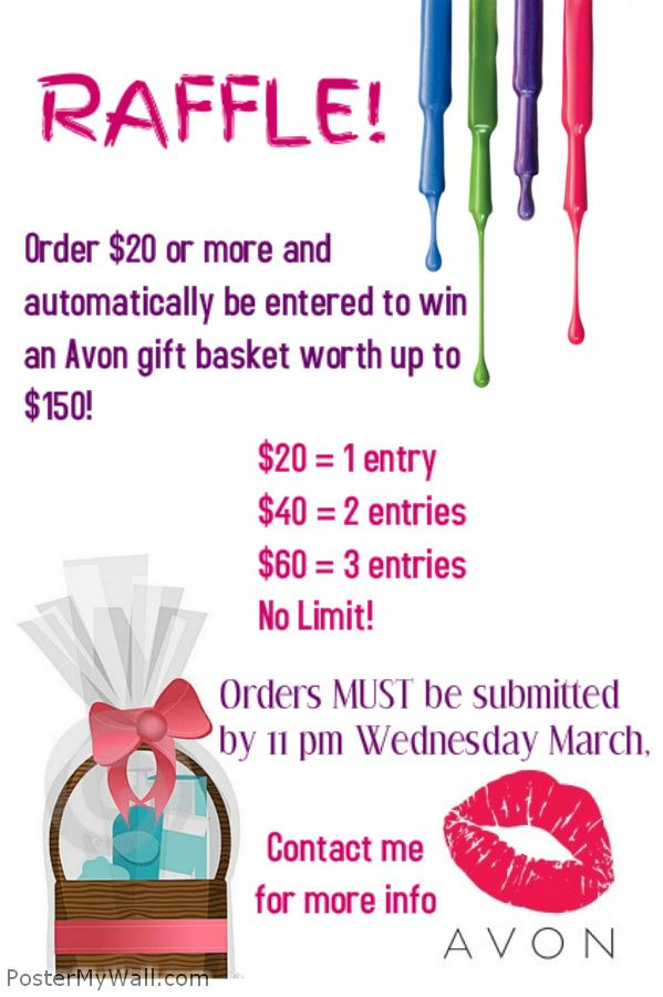 Place and order of $20 or more in C-7 and automatically be entered ...