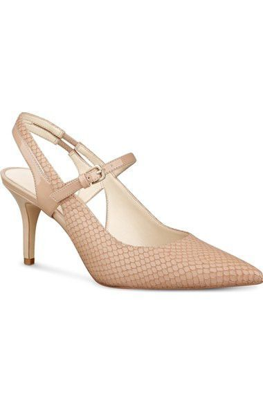 'Kookie' Slingback Mary Jane Pointy Toe Pump
