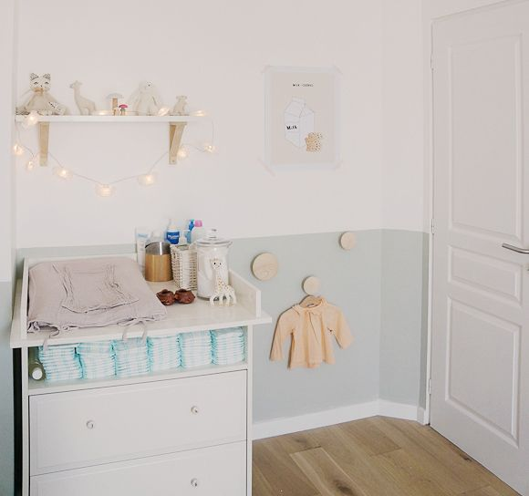 Idée peinture chambre fille, voici une jolie chambre pour ...