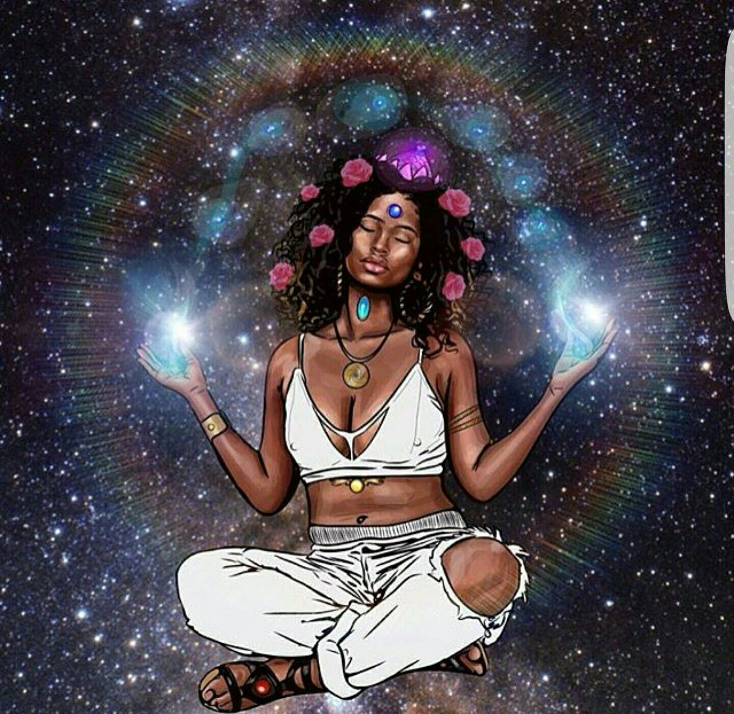 "You are sacred, magical and powerful beyond measure."" ~Abiola ..."
