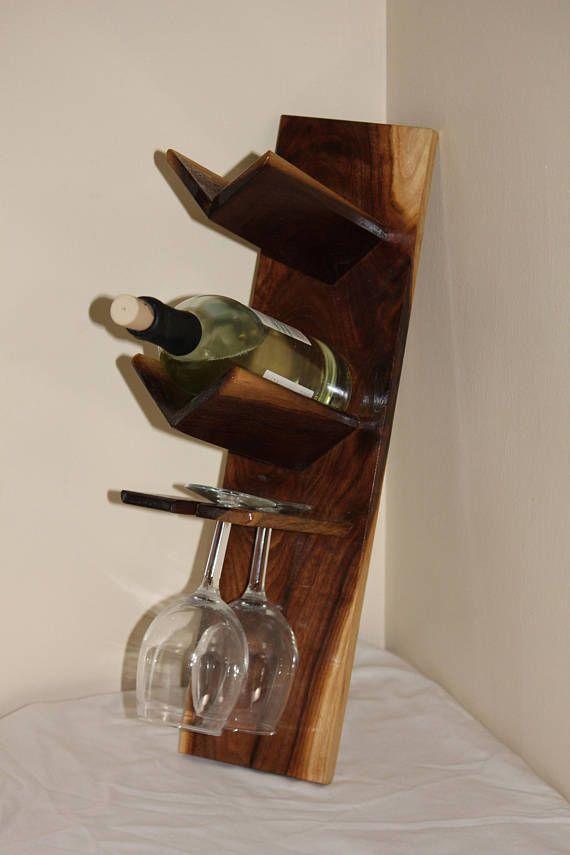 Botellero madera exibidor vino en 2019 pinterest - Botellero de madera para vino ...