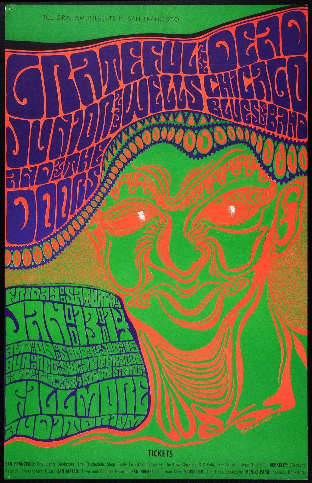 Poster design 1960s - 1960 S Psychedelic Poster Design