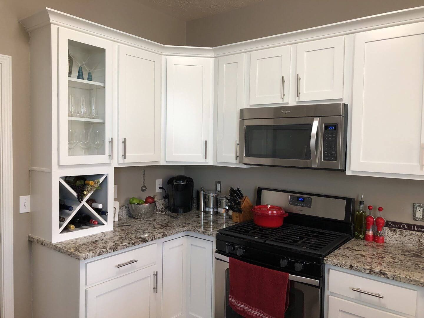 What Color To Paint Kitchen With Dark Countertops