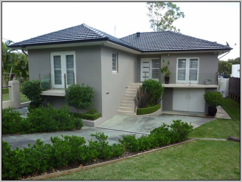 Exterior house paint colour schemes nz a little brick for House colour