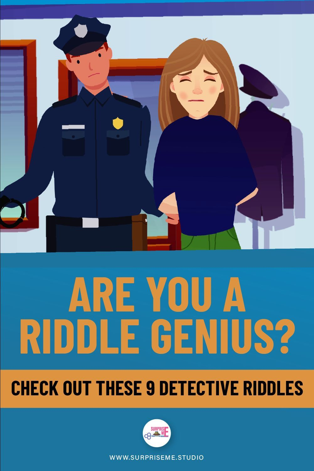 Are YOU a Riddle Genius? Check out these 9 Detective