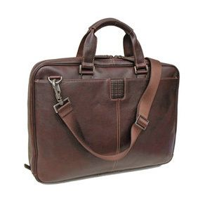 """Streamline business and travel with one amazing, lightweight bag that accommodates up to a 17"""" laptop, phone and either an iPad or tablet. Front and back pockets plus interior organizer panel for airline tickets, business cards, keys, pens and more. 16.25"""" x 12.25"""" x 3"""". 3 lbs."""