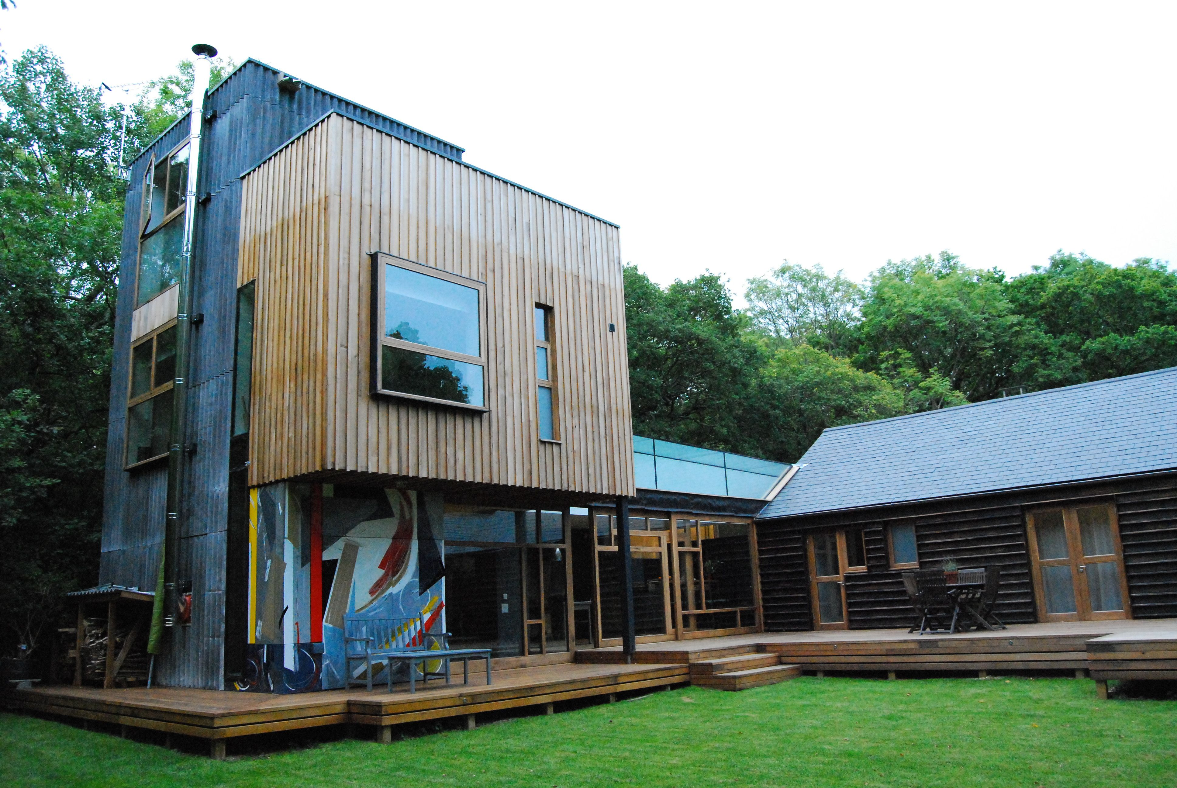 My favourite Grand Designs House - with burnt larch and yoghurt ...