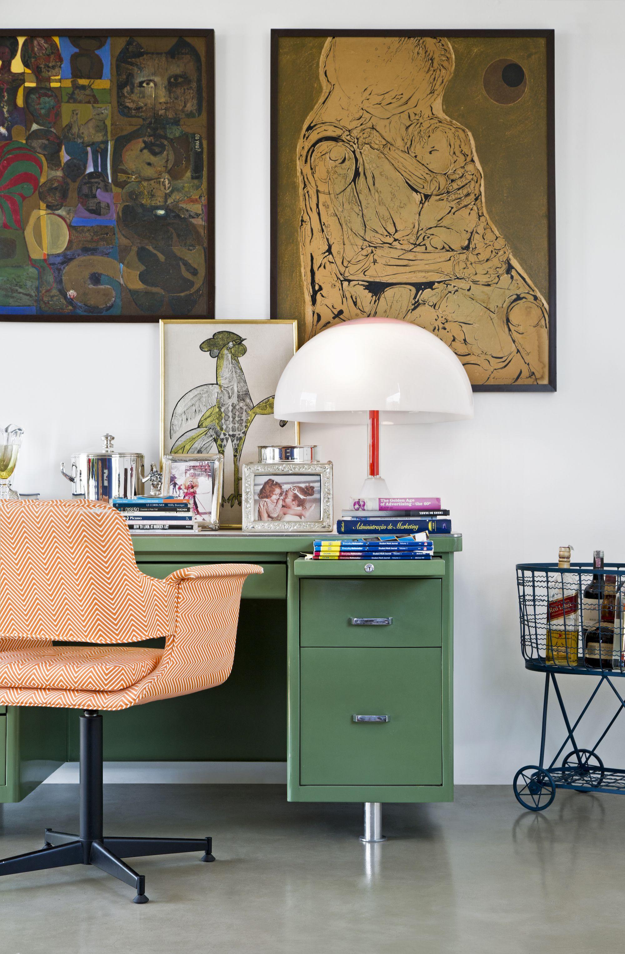 Wunderbar Alexandra Tobler, Creative Director Von Westwing Brasilien Zeigt Uns Ihren  Farbenfrohen Arbeitsplatz! Toll Wie