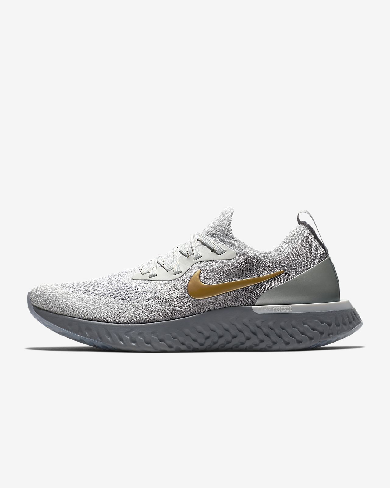 Nike Epic React Flyknit Metallic