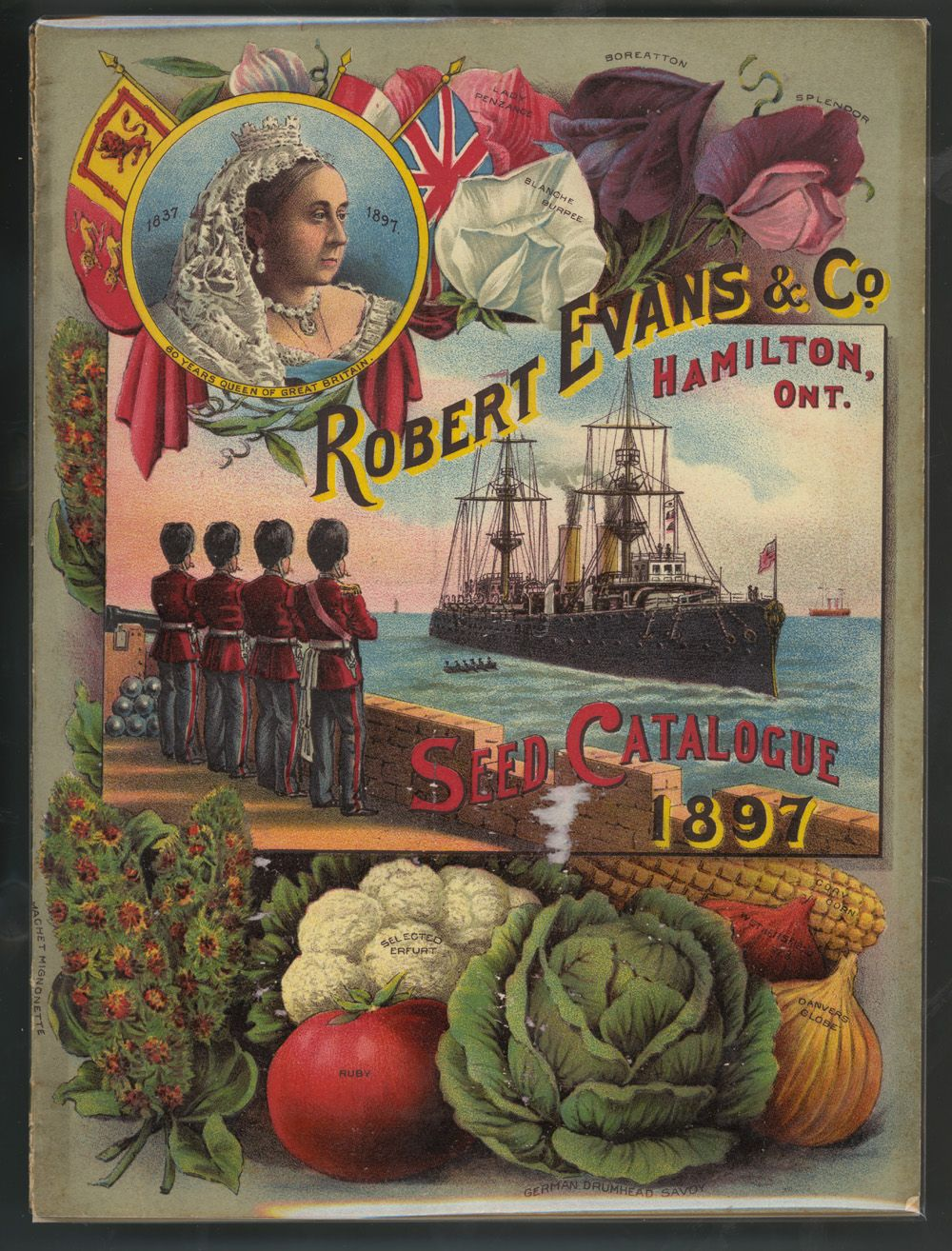 Adventures Of The Blackgang Seed Catalogue 1897 Robert Evans