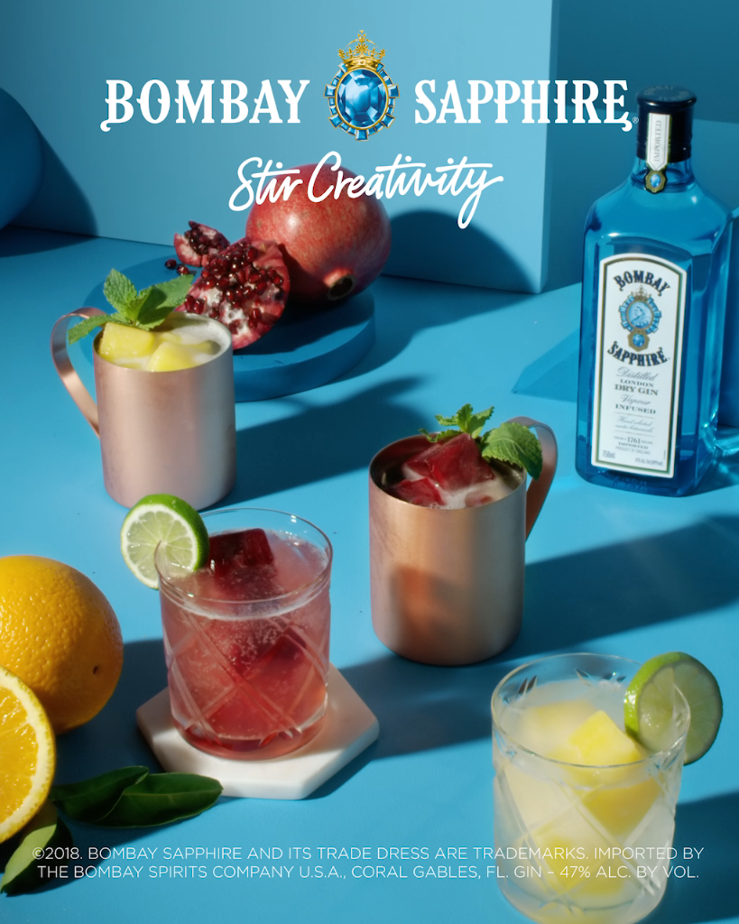 Bombay Mule 1 Parts Bombay Sapphire Gin 1 4 Part Lime Juice And 4 Parts Fever Tree Ginger Beer Video Summer Pitcher Drinks Gin Summer Refreshments