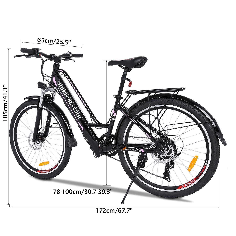 Free Venus 26inch Electric Bicycle 36v 8a Mountain Bike