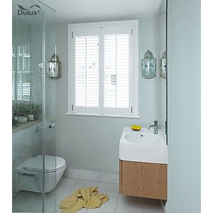 Dulux Bathroom Emulsion Paint Atmosphere 2 5l Dulux Bathroom Paint Small Bathroom Decor Painting Bathroom