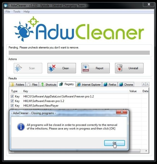 AdwCleaner 4 001 - AdwCleaner is a free removal tool for
