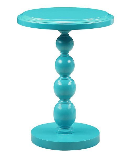 Love this Blue Accent Table by Coast to Coast on #zulily! #zulilyfinds